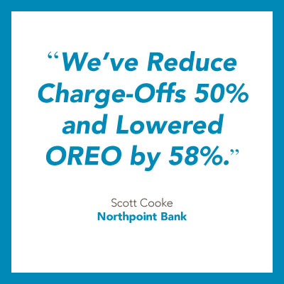 Banking strategies for growth quote from Northpoint Bank.