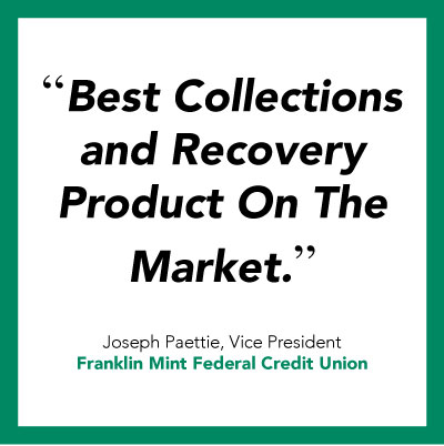 Credit union software quote from Franklin Mint Credit Union.